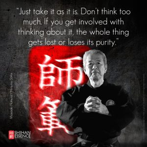 never give up Karate-Quotes