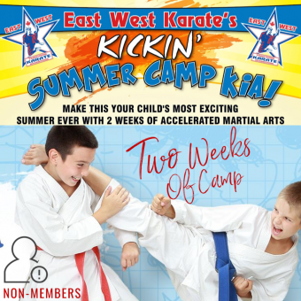 Kickin' Karate Summer Camp – Two Weeks of Camp [NON-MEMBERS]]
