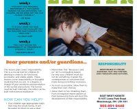 Parent/Guardian Newsletter | Kid Skill Sheet – September 2020