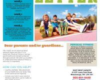 Parent/Guardian Newsletter | Kid Skill Sheet – December 2020