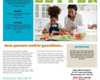 Parent/Guardian Newsletter | Kid Skill Sheet – April 2021