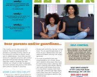 Parent/Guardian Newsletter | Kid Skill Sheet – May 2021
