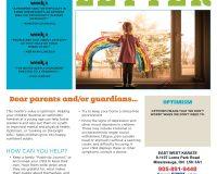 Parent/Guardian Newsletter | Kid Skill Sheet – August 2021