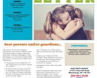 Parent/Guardian Newsletter | Kid Skill Sheet – July 2021