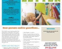 Parent/Guardian Newsletter | Kid Skill Sheet – October 2021