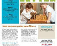 Parent/Guardian Newsletter | Kid Skill Sheet – September 2021